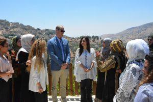 الأمير ويليام دوق كمبردج يزور مشروع مؤسسة الاميرة تغريد